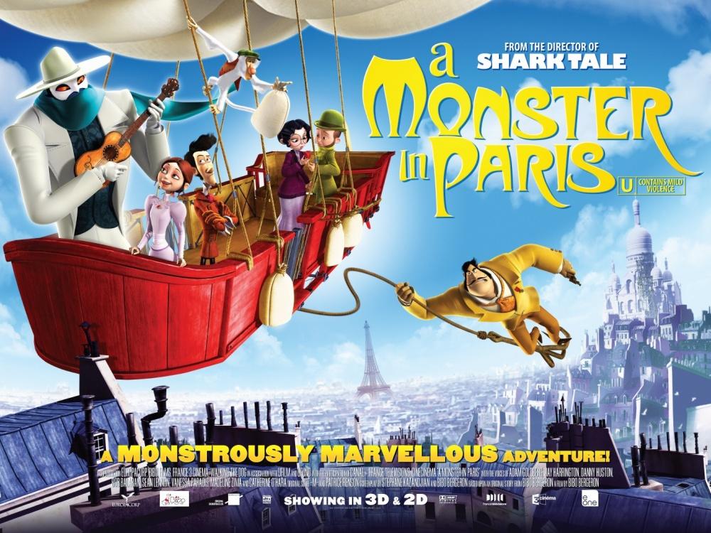 Смотреть монстер в париже фото 382-594